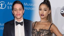 Did Pete Davidson Cover His Tattoo of Ex Cazzie David Amid Ariana Grande Romance?