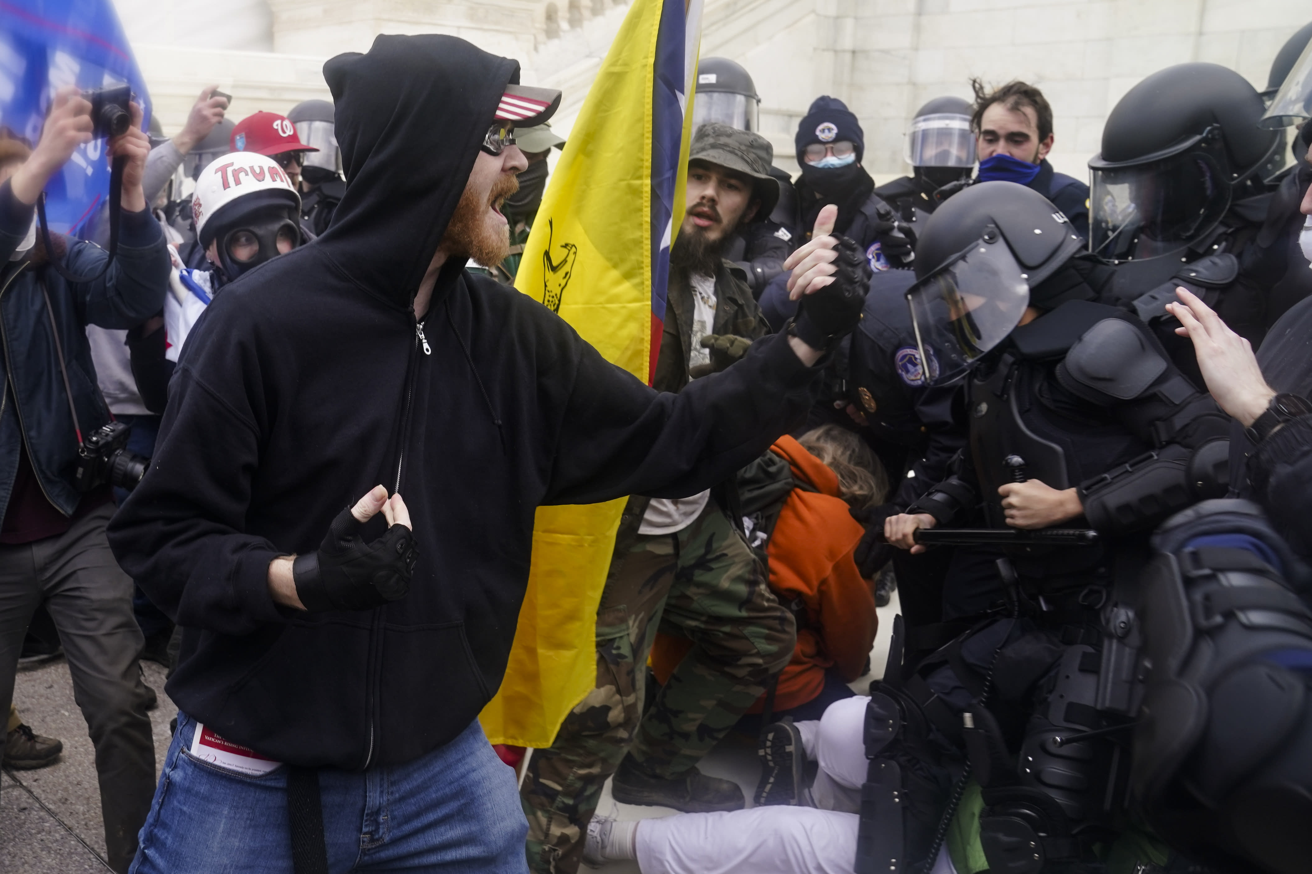 'THIS IS ME': Rioters flaunt involvement in Capitol siege