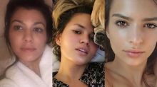 These Celebs Look Gorgeous in Their Makeup-Free Selfies