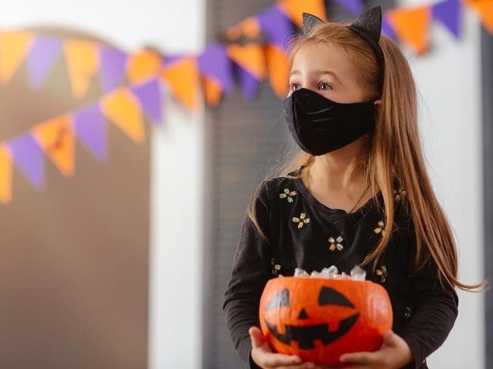 """Trick-or-treating is """"strongly discouraged"""" in California due to the widespread threat of COVID-19."""