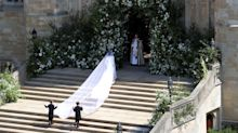 PHOTOS: Take a closer look at Meghan Markle's wedding dress