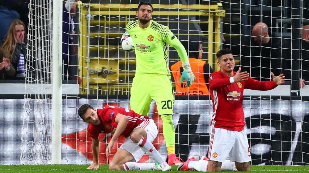 Anderlecht 1 Manchester United 1: Late Dendoncker leveller denies Mourinho's men