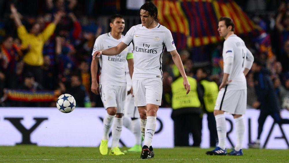 """El Guingamp trollea a Cavani: """"¿Por qué no juegas así contra el Barcelona?"""""""