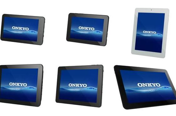 Onkyo launching six fresh Android SlatePads in Japan on March 8th