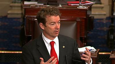 Senator Rand Paul Ends Filibuster