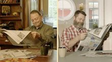 Like Father, Like Son: Nick and Ric Offerman Celebrate Father's Day Uniformly with Lagavulin Single Malt Scotch Whisky