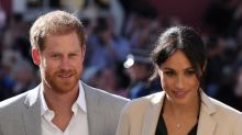 Meghan Markle and Prince Harry in mid-air scare as £40m private jet 'struck by lightning'