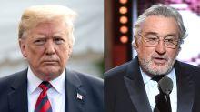 President Trump slams 'punch drunk,' 'low IQ' Robert De Niro for Tony outburst