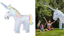 This Ginormous Unicorn Sprinkler Is Summer Magic