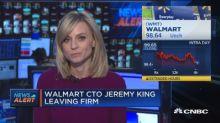 Walmart's CTO Jeremy King leaving company