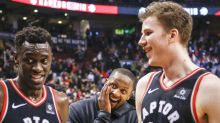 Who is the 'Spice God' of the Raptors' 'Bench Mob'