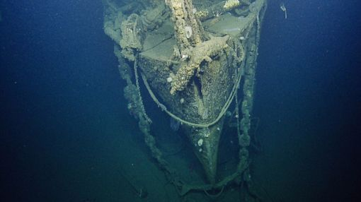 1st Look at World War II-Era Aircraft Carrier Sunk in the Pacific