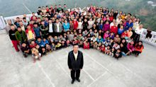 Man with 39 wives and head of 'world's largest family' dies
