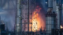 Fire at major oil refinery pushes gas prices higher