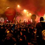 France at standstill as workers strike over pensions reform