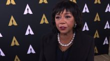 Academy Awards president 'happy' about 6 black actor nominations