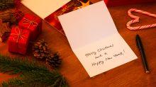 Viraler Post: Peinlicher Fehler auf Weihnachtskarte