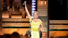 Ali Stroker dedicates Tony Award to disabled children after historic win