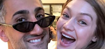How Tan France and Gigi Hadid became friends