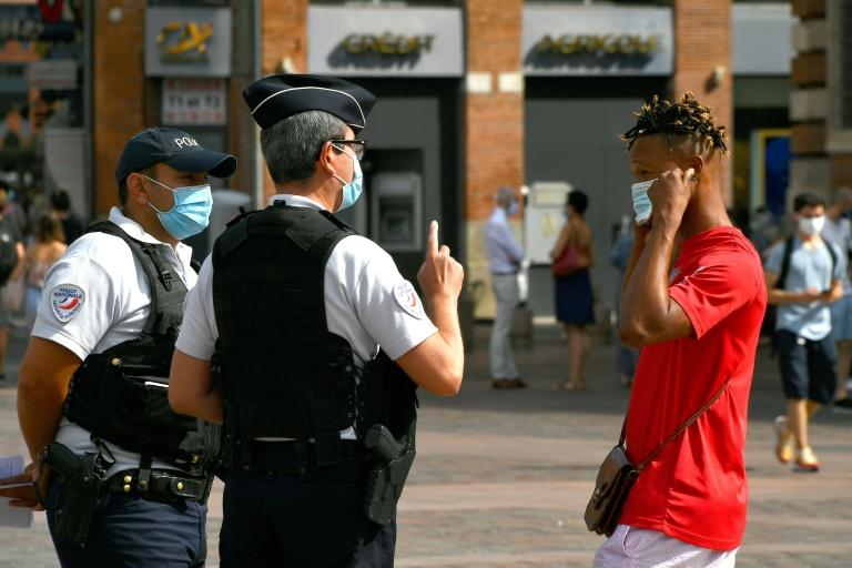 Mandatory mask-wearing is becoming increasingly normal in many parts of urban France as cases rise