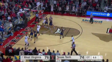 Texas Tech upsets No. 7 West Virginia with game-winning three in overtime (Video)