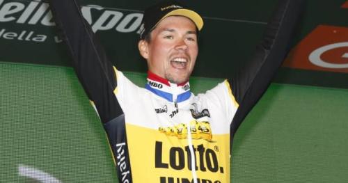 Cyclisme - T. du Pays Basque - Tour du Pays Basque : Primoz Roglic remporte la 4e étape, David de la Cruz toujours en jaune