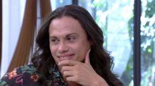 Silvero Pereira se emociona com declaração de Humberto Martins no 'Mais Você'