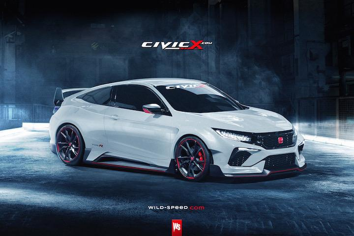 this honda civic type r coupe concept is crazy sexy. Black Bedroom Furniture Sets. Home Design Ideas