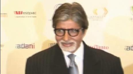 Big B spotted at premiere of 'Fearless Nadia'