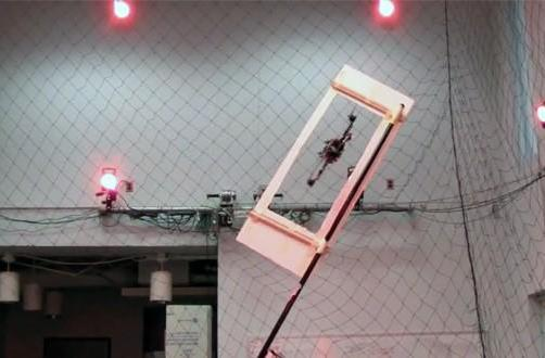 Autonomous quadrocopter flies through windows, straight into our hearts (video)