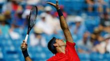 Del Potro, Kyrgios advance, Raonic withdraws in Cincinnati