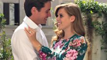Princess Beatrice wears Australian brand Zimmermann for engagement photos