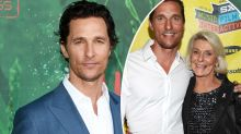 Matthew McConaughey's dad died while having sex with his mum