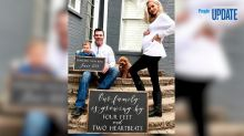 Meghan King Edmonds Covers 'Massive Twin Belly' in Only Glitter for Maternity Shoot