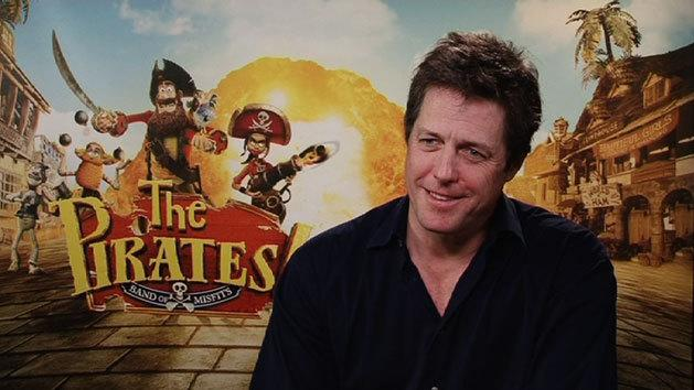 INTERVIEW: Hugh Grant for 'The Pirates! Band of Misfits'