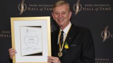 Cometti called into football Hall of Fame