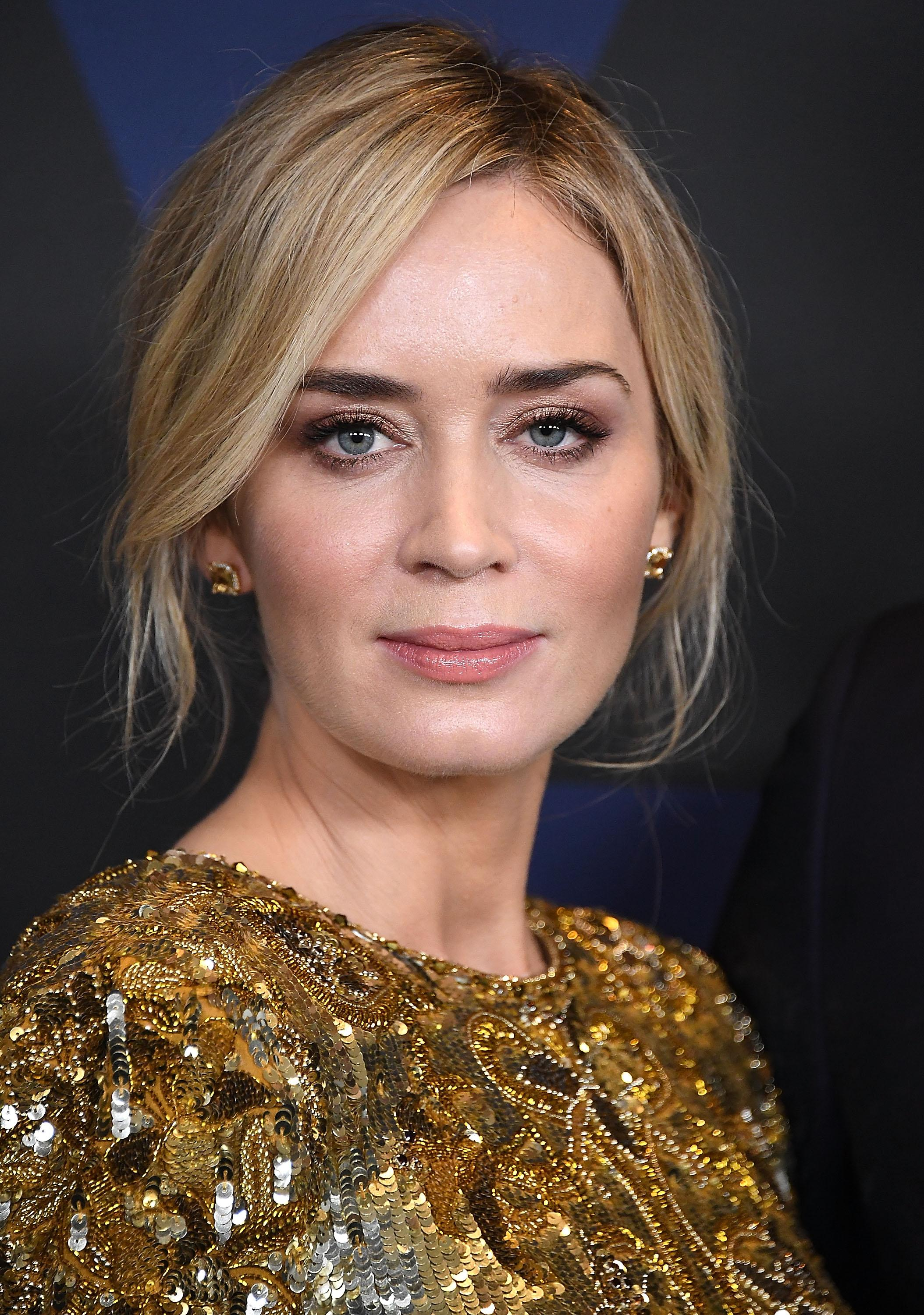 Emily Blunt Wore a Bed...