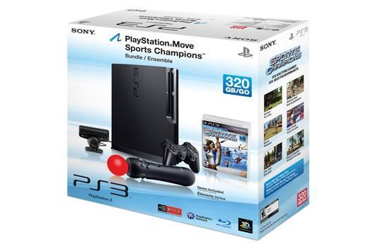 Walmart selling 320 GB PS3 with Move for $350 shipped to store