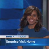 Michelle Obama returns to Chicago after DNC