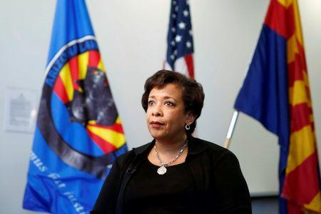United States Attorney General Loretta Lynch speaks to Reuters in an exclusive interview in Phoenix, Arizona, U.S., June 28, 2016. REUTERS/Nancy Wiechec