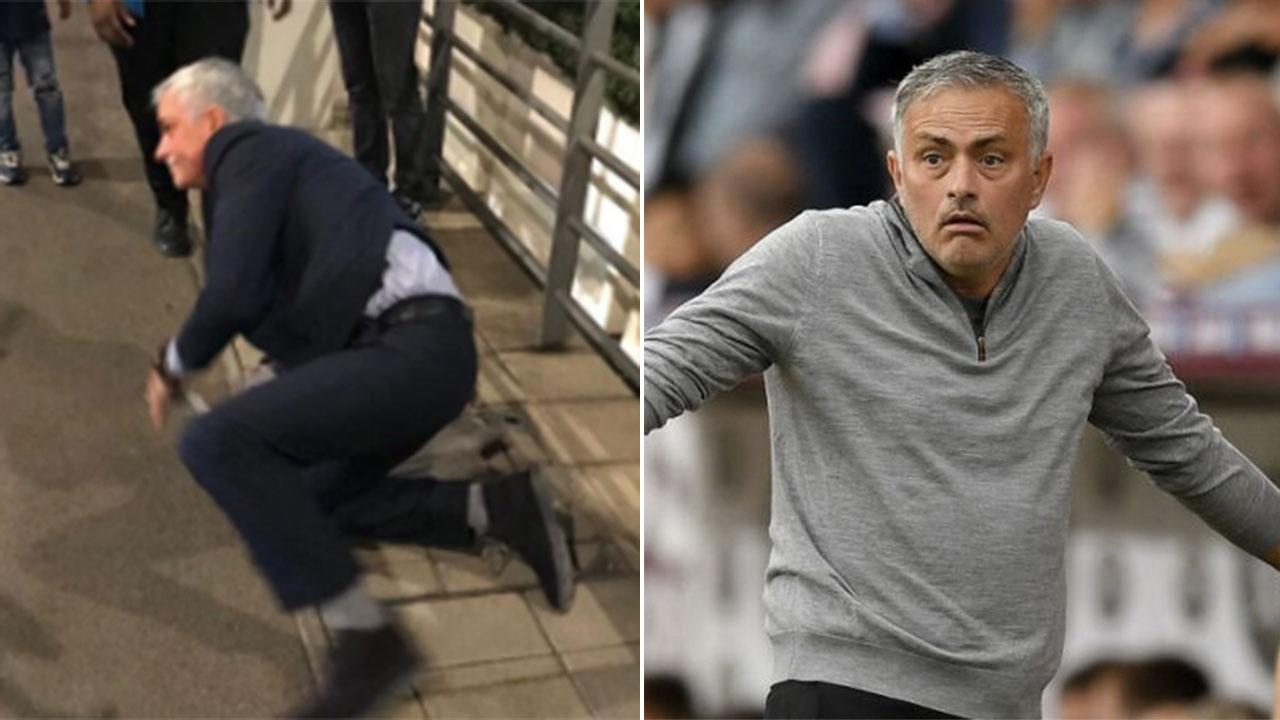 Manchester United Manager Jose Mourinho Pokes Fun At