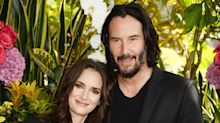 Keanu Reeves Says Winona Ryder Calls Him 'Husband' and Jokes Their Onscreen Marriage Is 'Awesome'