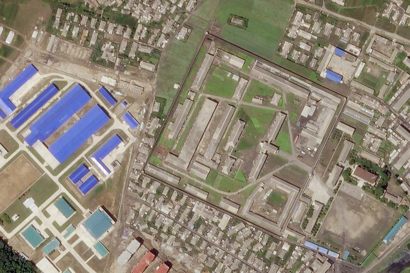 Satellite Images Show North Korea Is Expanding a Missile-Manufacturing Plant, a Report Finds