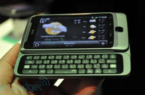 HTC Desire Z hands-on (update: more pics and video)