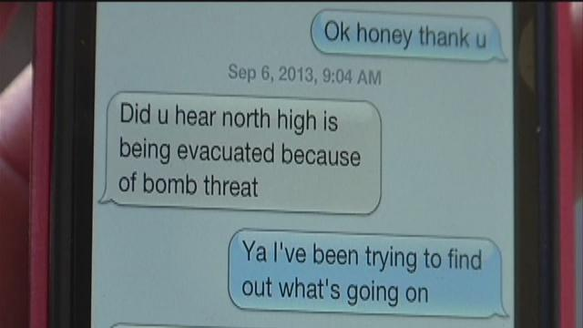 North High School bomb threat led authorities to deal with social media