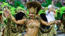 Viviane Araújo, Lívia Andrade e Ellen Rocche voltam a brilhar no desfile das campeãs de São Paulo