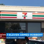 Man robs 7-Eleven at gunpoint in northwest Fresno