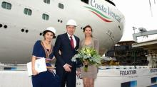 Fincantieri: varata prima nave Costa Crociere per mercato cinese