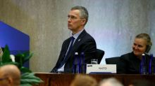 NATO Secretary General says looking for date for minister talks