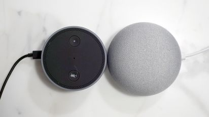 Google Home Mini vs. the Amazon Echo Dot